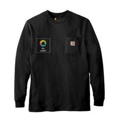 Camiseta de trabajo de manga larga Carhartt®con bolsillo