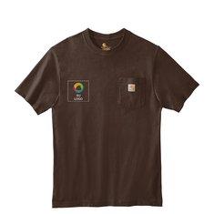 Camiseta de trabajo de manga corta Carhartt®con bolsillo
