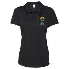Camisa polo All Sport Performance de 3 botones para dama