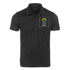 Seven Men's Black Polo T-shirt