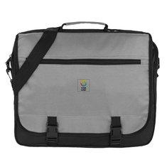 Conference Embroidered Messenger Bag