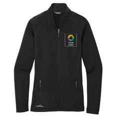 Eddie Bauer® Ladies Smooth Fleece Base Layer Full-Zip