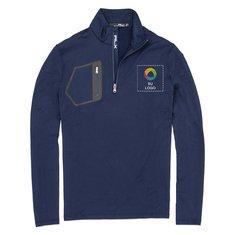 Suéter Tech con 1/2 cremallera y reverso cepillado de Polo Ralph Lauren®