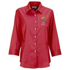 Blusa de vestir Van Heusen de sarga para dama