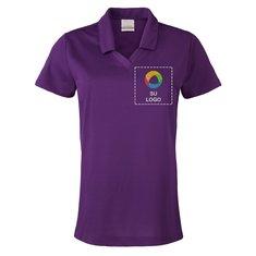 Camisa polo para dama de tejido micro piqué con tecnología Dri-FIT de Nike® Golf