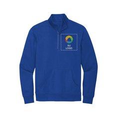 Suéter de forro polar District® V.I.T.™ con cremallera de 1/4