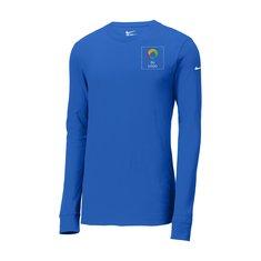 Camisa de manga  Nike® Core de algodón