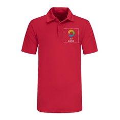 Camisa polo texturizada Sport-Tek® PosiCharge® Active con bloques de color