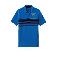 Camisa polo con franjas en el pecho Dri-FIT de Nike®