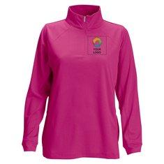 Vantage Vansport™ Women's Mesh 1/4-Zip Tech Pullover
