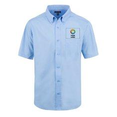 Camisa de vestir Elevate Colter de manga corta para hombre
