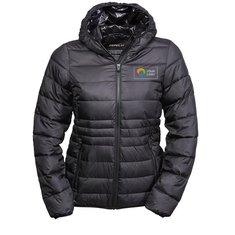 Tee Jays® Ladies Zepelin Hooded Padded Jacket