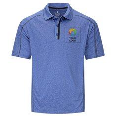 Elevate Men's Macta Short Sleeve Polo Shirt