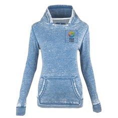 Burnout Women's Fleece Kanga Hoody