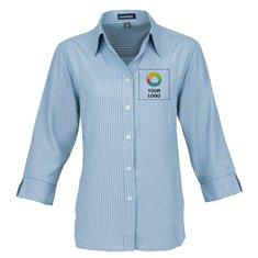 Elevate Brewar Women's 3/4 Sleeve Dress Shirt