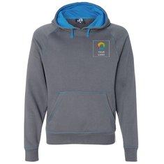 J. America Shadow Fleece Hooded Pullover Sweatshirt