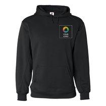 Badger BT5 Moisture Management Hooded Sweatshirt