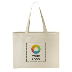 Classic Cotton All-Purpose Convention Tote Bag