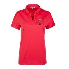 Camisa polo Port Authority® Crossover con mangas raglán para damas