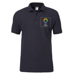 Fruit of the Loom® Premium Polohemd, Kurzarm, 100 % Baumwolle