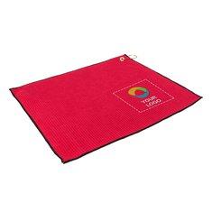ProTowels® Microfiber Waffle Weave Golf Towel