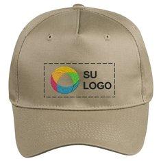 Gorra de sarga de cinco paneles Port & Company®