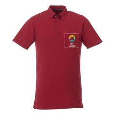 Elevate™ Atkinson kortærmet poloskjorte med knapkrave til mænd