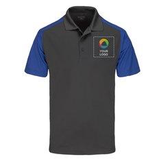 Sport-Tek® Colorblock Micropique Sport-Wick® Polo