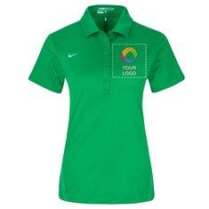 Nike® Golf Women's Dri-FIT Sport Swoosh Pique Polo