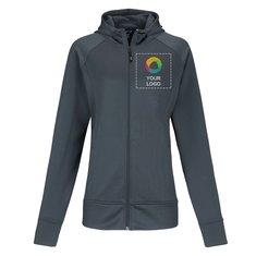 Sport-Tek® Ladies Rival Tech Fleece Full-Zip Hooded Jacket