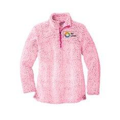 Suéter de tela polar con cremallera de 1/4 para mujer de Port Authority®