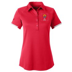 Camisa polo Under Armour® Corporate Rival para mujer