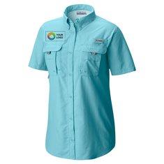 Columbia® Ladies' Bahama™ Short-Sleeve Shirt