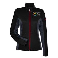 Suéter Spyder® con cremallera completa para mujer