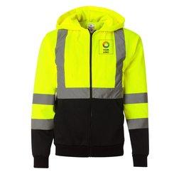 ML KISHIGO® Hi-Vis Hooded Full-Zip Sweatshirt