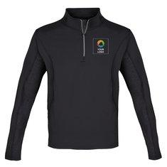 Elevate Caltech Men's Knit Quarter Zip Jacket