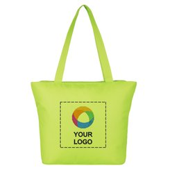 Beach Embroidered Tote Bag