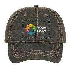 Port Authority® Pigment Print Distressed Cap