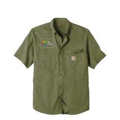 Camisa de manga corta Carhartt® ForceRidgefield de un solo color