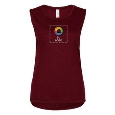 Camiseta sin mangas de corte vaporoso Bella + Canvas® Muscle Tank para dama