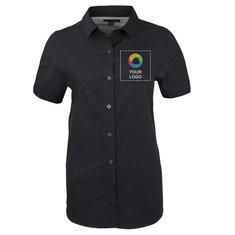 Sanchi Women's Short Sleeve Dress Shirt