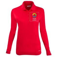 Elevate Brecon Women's Long Sleeve Polo Shirt