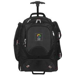 Zaino portacomputer con ruote Elleven™, ideale per i controlli di sicurezza