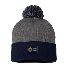 No minimum quantity. Sportsman Pom Pom Knit Cap e00d9932581