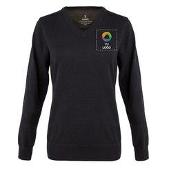 Jersey de cuello en pico Spruce de Elevate™ para mujer