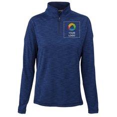 Elevate Yerba Women's Knit Quarter Zip Jacket