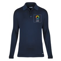 Elevate Brecon Men's Long Sleeve Polo Shirt