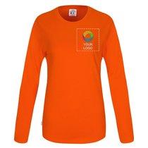 CottoVer® GOTS langärmeliges Damen-T-Shirt