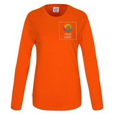CottoVer® GOTS Damest-shirt met Lange Mouw