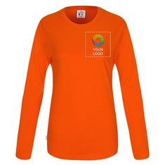 CottoVer® langærmet GOTS dame-T-shirt